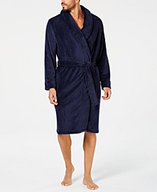 Men's Plush Robe, Created for Macy's