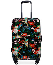 "Jessica Simpson Sweet Birds 20"" Carry-On Spinner Suitcase"
