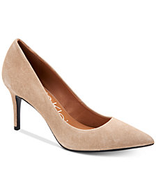 Calvin Klein Women's Gayle Pointed Toe Pumps