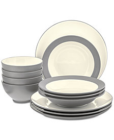 Noritake Colorwave 12-Piece Dinnerware Set, Created for Macy's