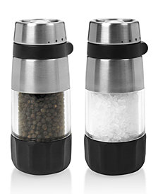 OXO Salt and Pepper Shakers, Grinder Set