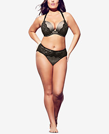 City Chic Trendy Plus Size Rihanna Shorty Brief