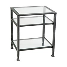Metal End Table, Quick Ship