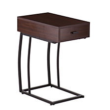 Porten Side Table w/ Power & USB, Quick Ship