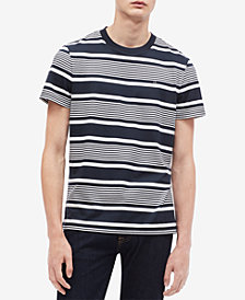 Calvin Klein Men's Striped T-Shirt