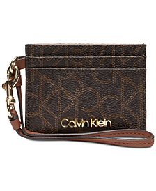 Calvin Klein Signature Card Case