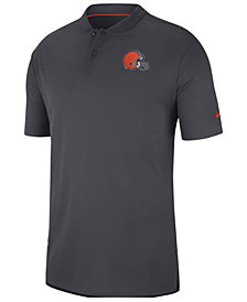 Nike Men's Cleveland Browns Elite Coaches Polo 2018