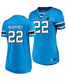 Majestic Women's Christian McCaffrey Carolina Panthers Draft Him Shirt 2018