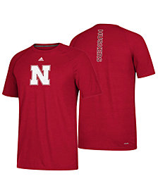 adidas Nebraska Cornhuskers NCAA Men's Sideline Sequel T-Shirt