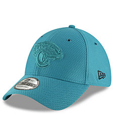 New Era Jacksonville Jaguars Official Color Rush 39THIRTY Stretch Fitted Cap