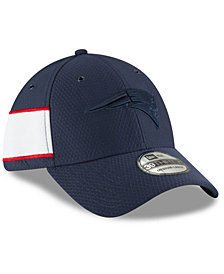 New Era New England Patriots Official Color Rush 39THIRTY Stretch Fitted Cap