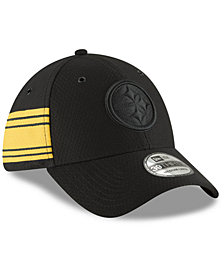 New Era Pittsburgh Steelers Official Color Rush 39THIRTY Stretch Fitted Cap