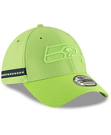 New Era Seattle Seahawks Official Color Rush 39THIRTY Stretch Fitted Cap