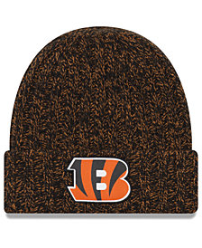 New Era Women's Cincinnati Bengals On Field Knit Hat