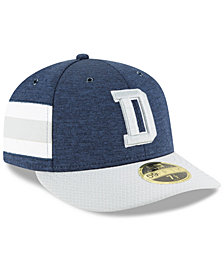 New Era Dallas Cowboys On Field Low Profile Sideline Home 59FIFTY Fitted Cap