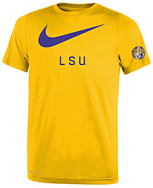 Nike LSU Tigers Legend DNA T-Shirt, Big Boys (8-20)
