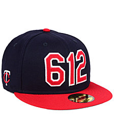 New Era Minnesota Twins Area Code 59FIFTY FITTED Cap