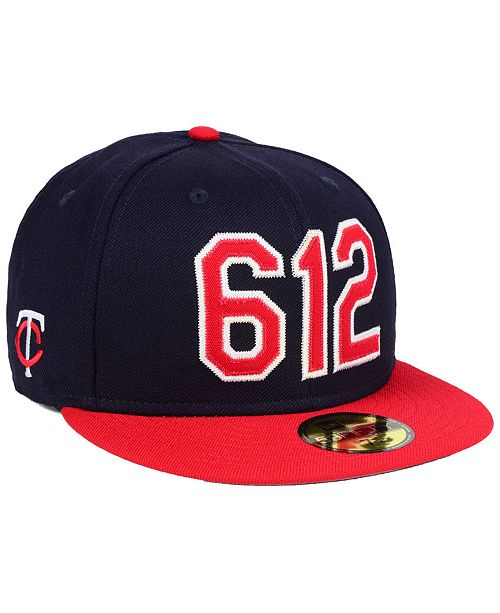 online store 6ce59 404e0 ... New Era Minnesota Twins Area Code 59FIFTY FITTED Cap ...