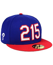 best website 2478b 1be4b New Era Philadelphia Phillies Area Code 59FIFTY FITTED Cap