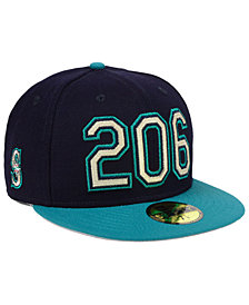 New Era Seattle Mariners Area Code 59FIFTY FITTED Cap