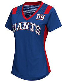 G-III Sports Women's New York Giants Wildcard Jersey T-Shirt