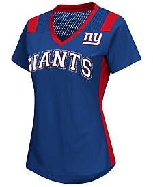 G-III Sports Women's New York Giants Wildcard Jersey T-Shirt