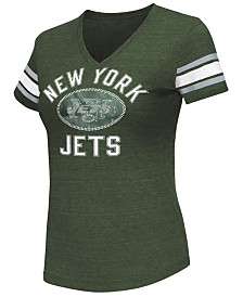 G-III Sports Women's New York Jets Wildcard Bling T-Shirt