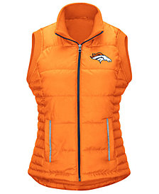 G-III Women's Sports Denver Broncos First Down Vest