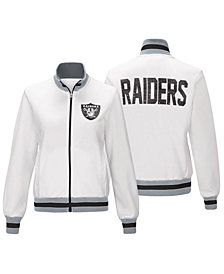 G-III Sports Women's Oakland Raiders Field Goal Track Jacket