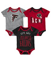 cfdbc71ea3c Outerstuff Atlanta Falcons 3 Pack Lil Tailgater Creeper Set