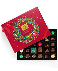 Godiva 32 Piece Holiday Chocolate and Truffle Gift Box