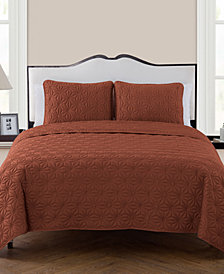 VCNY Home Kaleidoscope 3-Pc. King Quilt Set