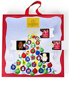 Godiva 24-Piece Advent Calendar