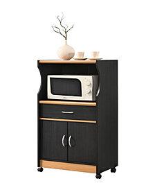 Microwave Kitchen Cart