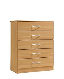 5-Drawer Chest in Beech
