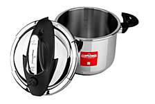 Magefesa Nova 6.3 Qt. Stainless Steel Pressure Cooker