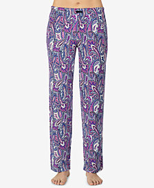 Ellen Tracy Printed Pajama Pants