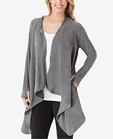 Cuddl Duds Long-Sleeve Fleece Hooded Wrap