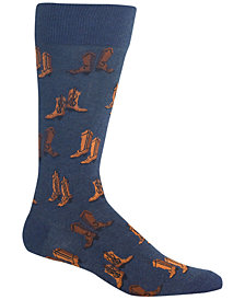 Hot Sox Men's Boots Crew Socks