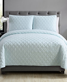 VCNY Home Buckingham Diamond 3-Pc. Quilted Full/Queen Coverlet Set