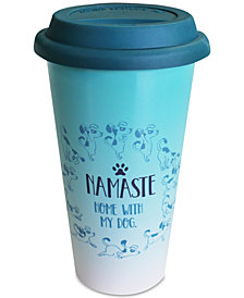 CLOSEOUT! TMD Holdings Namaste Dog Travel Mug