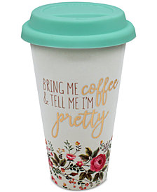 CLOSEOUT! TMD Holdings Bring Me Coffee Travel Mug
