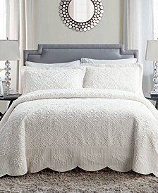 Westland 2-Pc. Twin Plush Bedspread Set