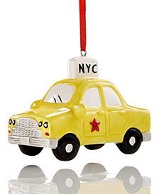 Macy's Collectible Taxi Ornament, Created for Macy's