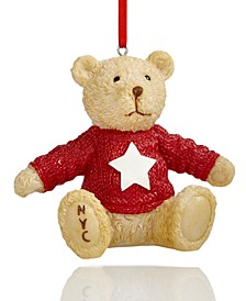 Collectible Teddy Bear Ornament, Created for Macy's