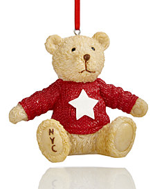 Macy's Collectible Teddy Bear Ornament, Created for Macy's