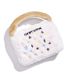 Haute Diggity Dog White Chewy Vuiton Purse