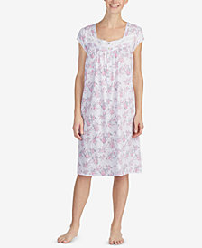 Eileen West Printed Waltz Nightgown