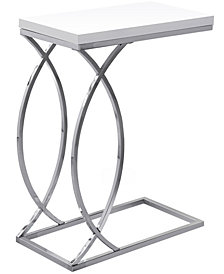Accent Table -With Chrome Metal