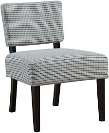 Accent Chair - Abstract Dot Fabric
